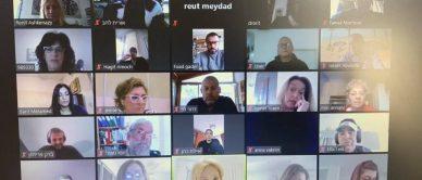 מפגש מנהלים רשת עמל למידה בחירום